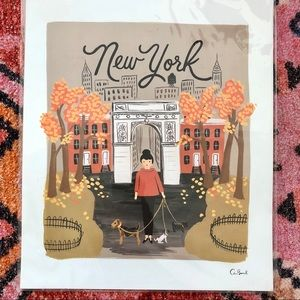 RIFLE PAPER CO. 'New York' art print